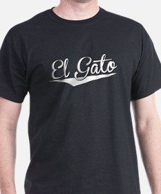 El Gato, Retro, T-Shirt