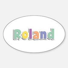 Roland Spring14 Oval Decal