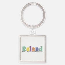 Roland Spring14 Square Keychain