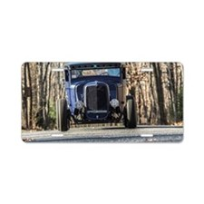 hot rod Aluminum License Plate