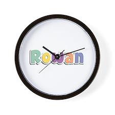 Rowan Spring14 Wall Clock
