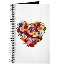 Heart Bouquet Journal