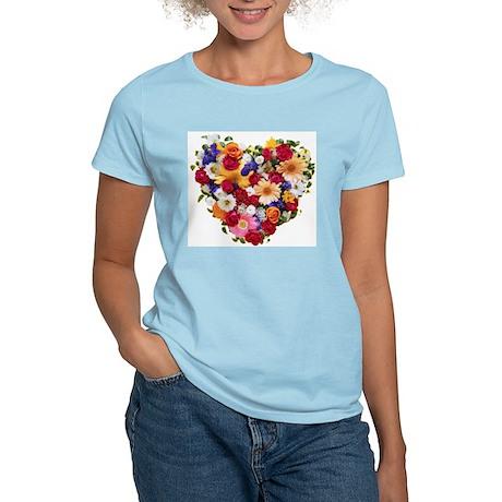 Heart Bouquet Women's Light T-Shirt