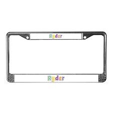 Ryder Spring14 License Plate Frame
