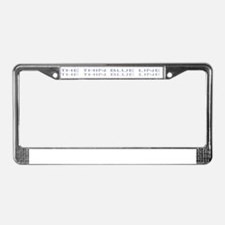 Cute Ctu License Plate Frame
