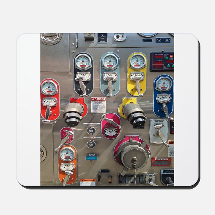 Fire Engine No. 6 Mousepad
