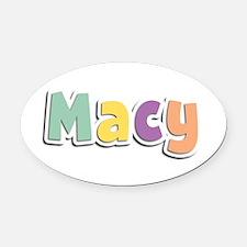 Macy Spring14 Oval Car Magnet
