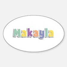 Makayla Spring14 Oval Decal