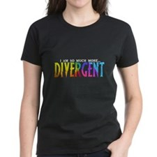 Divergent Colorful Tee