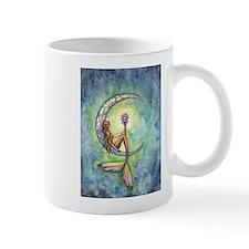 Mermaid Moon Fantasy Art Mug