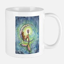 Mermaid Moon Fantasy Art Mug