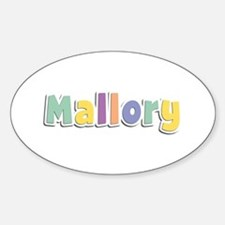 Mallory Spring14 Oval Decal