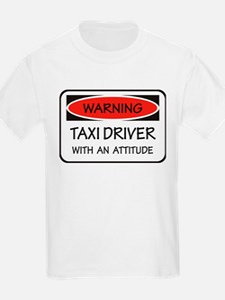Attitude Taxi Driver T-Shirt