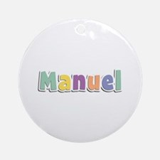 Manuel Spring14 Round Ornament