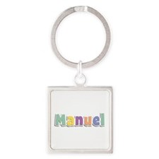 Manuel Spring14 Square Keychain