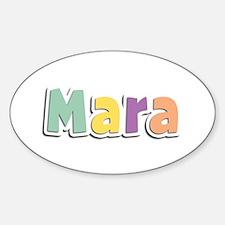 Mara Spring14 Oval Decal