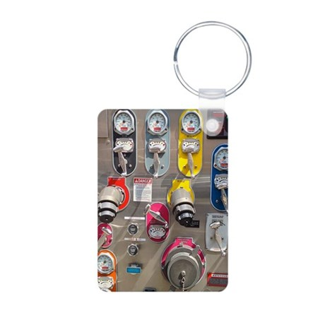 Fire Engine No. 9 Keychains