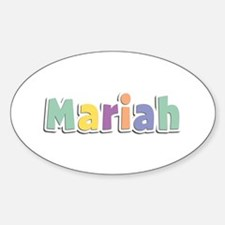 Mariah Spring14 Oval Decal