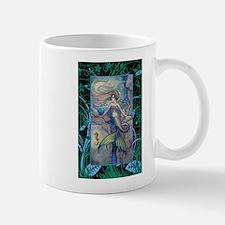 Mermaid and Seahorse Fantasy Art Mug