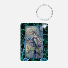 Mermaid and Seahorse Fanta Keychains