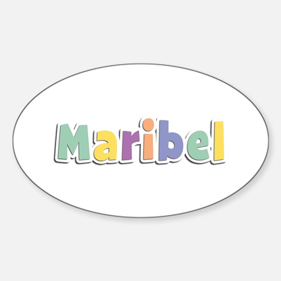 Maribel Spring14 Oval Decal