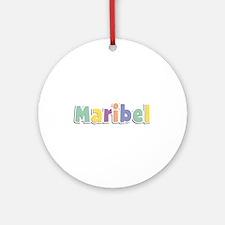 Maribel Spring14 Round Ornament