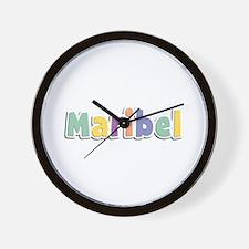 Maribel Spring14 Wall Clock