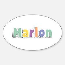 Marlon Spring14 Oval Decal
