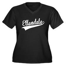 Ellendale, Retro, Plus Size T-Shirt