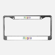 Mayra Spring14 License Plate Frame