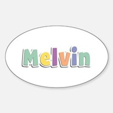 Melvin Spring14 Oval Decal