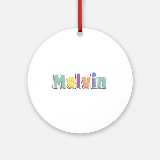 Melvin Spring14 Round Ornament