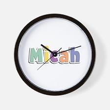 Micah Spring14 Wall Clock