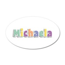 Michaela Spring14 20x12 Oval Wall Decal