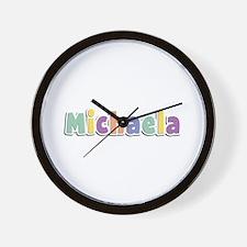 Michaela Spring14 Wall Clock