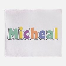 Micheal Spring14 Throw Blanket