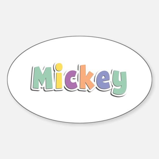 Mickey Spring14 Oval Decal