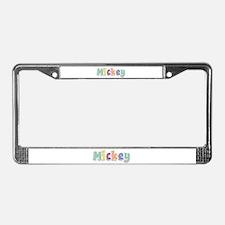 Mickey Spring14 License Plate Frame