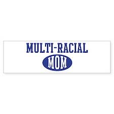 Multi racial mom Bumper Bumper Sticker