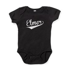 Elmer, Retro, Baby Bodysuit