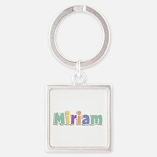 Miriam Spring14 Square Keychain