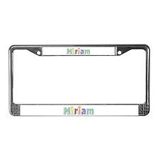Miriam Spring14 License Plate Frame