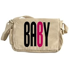Twin Baby B Pink Messenger Bag