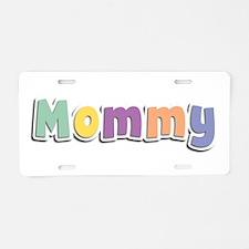 Mommy Spring14 Aluminum License Plate