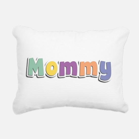 Mommy Spring14 Rectangular Canvas Pillow