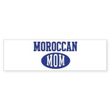 Moroccan mom Bumper Bumper Sticker