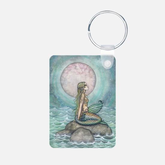 The Pastel Sea Mermaid Fantasy Art Keychains