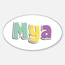 Mya Spring14 Oval Decal