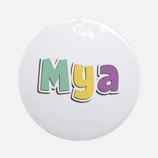 Mya Spring14 Round Ornament