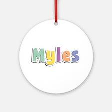 Myles Spring14 Round Ornament